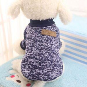 Pet Dog Cat Warm Fleece Vest Clothes Coat Puppy Shirt Sweater Winter Apparel