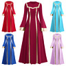 Women's Praise Metallic liturgical Long Sleeve Loose Fit Full Length Dance Dress