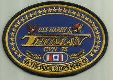 USS HARRY S TRUMAN CVN-75 US.NAVY PATCH NUKE AIRCRAFTCARRIER SAILOR SOLDIER USA.
