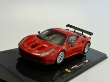 Ferrari 458 Italia GT2 rot  Hot Wheels Elite X2861 Neu in OVP 1/43