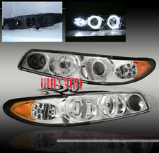 97-03 PONTIAC GRAND PRIX PROJECTOR HEADLIGHTS CHROME 99