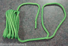 """(1) Green Double Braided 3/8"""" x 20' ft Boat Marine HQ Dock Line Mooring Rope"""