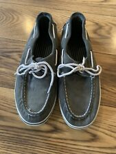 Thom Mcan Mens Boat Shoes Size 11. Great Condition, Gray. Fall Fashion For Men!