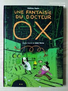 One Fantasy The Doctor Ox By Jules Verne Mathieu Tree Gallimard Eo 2007
