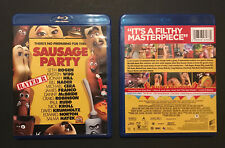 Sausage Party Blu-Ray (2016) Rated R Seth Rogen Kristen Wiig Jonah Hill