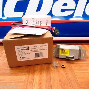 OEM NEW UPDATED ACDelco 15-80567  Blower Motor Resistor New #  15-81773