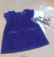 NEW, Boden Dress, 3-4y, Purple corduroy