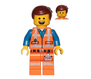 Lego Emmet 30620 Wide Smile Teeth and Tongue The LEGO Movie 2 Minifigure