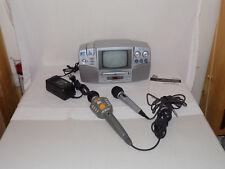 The Singing Machine SMVG-600 Karaoke Machine + 2 Mics + 2 CDs