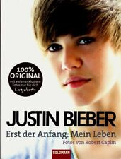 "Justin Bieber German Photo Book and Text 240 Pgs. 6""x8"" MINT"