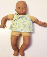 """Gotz for Pottery Barn Kids dark skin brown eyes 15"""" Baby Doll"""