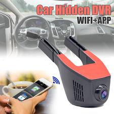 Auto Car Versteckt DVR Video Kamera G-Sensor Dashcam WiFi 1080P Recorder APP