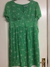 Ladies Dickins & Jones Green Mix Dress Size 16