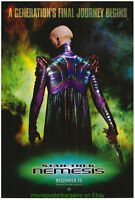STAR TREK NEMESIS MOVIE POSTER Original DS 27x40 Advance Style