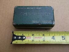 Vintage Federal Testmaster Dial Indicator Case Only Amp Instruction Sheet