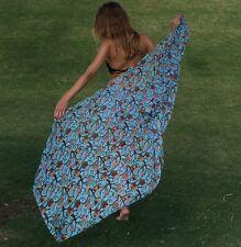 Women Bikini Swimwear Wrap Shawl Pareo Sarong Beach Cover Up Scarf Shawl