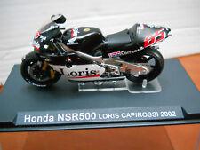 MODELLINO MOTO HONDA NSR500 (Loris Capirossi 2002)