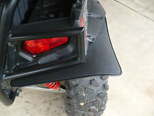 Polaris RZR-S  / RZR 4 Mud Flaps / Mud Guards / Fender Flair Extenders REAR ONLY