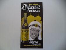 advertising Pubblicità 1977 AMARO BORSCHI SAN S. MARZANO