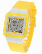 Casio LDF23-9A Ladies Yellow Digtal POPTONE Flower Theme Watch 10 YEAR BATTERY