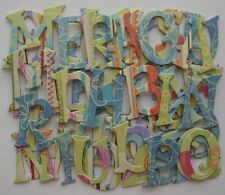 Kelly Panacci *~Fun~* Chipboard Letters Die Cuts