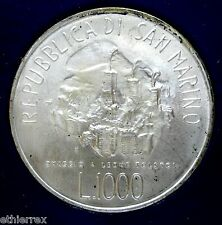 S.MARINO (TOLSTOY) LIRE 1000-1978