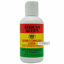 African Queen Queenie's Complexion Lotion with Antibactetrial 4 oz / 113.2 gm