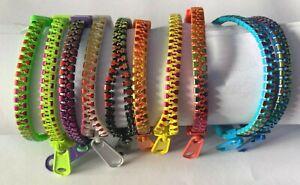 Tri Colour Zipper Bracelet Fidget Toys Stress Relief ,ADHD, AUTISM Stop Smoking