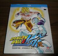 DragonBall Z Kai: Season Two (Blu-ray Disc, 2012, 4-Disc Set)  ... sealed new