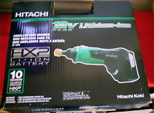 Hitachi Variable Speed Cordless Mini Grinder - 12v Lithium Ion - Dremel