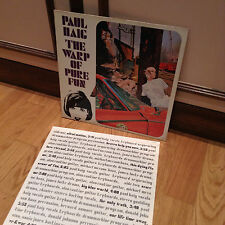 Paul Haig ‎– The Warp Of Pure Fun - LP 1985
