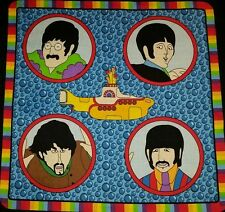"16"" THE BEATLES MUSIC ROCK BAND YELLOW SUBMARINE ACCENT PILLOW SHAM COVER"