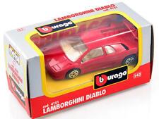 Burago Porsche 924 Turbo 1/43 Scale Auto - Rossa
