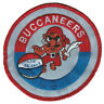 """1967-68 NEW ORLEANS BUCCANEERS ABA BASKETBALL HARDWOOD CLASSICS 3.5"""" TEAM PATCH"""