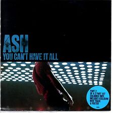 "ASH - YOU CAN'T HAVE IT ALL - 7"" RED VINYL SINGLE IN A POSTER COVER - MINT"
