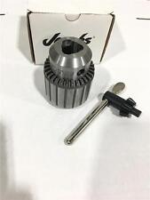 "QUALITY JACOBS Drill Chuck 36KD & K4 Key 3/16""-3/4"" Cap 3JT TAPER Mount"