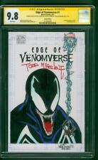 Venom 1 CGC 9.8 2X SS Will Torres Todd McFarlane Original art Sketch Spider Man