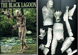 "11""Creature From BLACK LAGOON Classic Thriller Movies vinyl Model Kit 1/6"