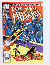 New Mutants #2 Marvel 1983 Sentinels