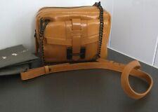Halston Heritage Small Double- Zip Crossbody Bag, As New!