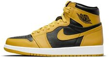 Air Jordan 1 Retro Alta OG de polen amarillo negro blanco 555088-701