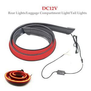 DC12V LED Auto Car Brake Light Rear Tail Bar Trunk Light Mount Stop Strip Lamp