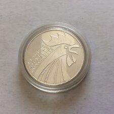 1 pièce en argent de 10 € France 2014 - Le coq