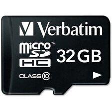 Verbatim - 32GB microSDHC Card (Class 10) w Adapter