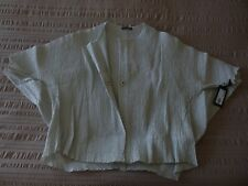 "NWT OSKA ""Nox"" Popper Detail/Plissee Jacket - size 3 14/16UK RRP£379.00"