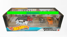 Fast & Furious Hot Wheels Premium Diorama Volkswagen Charger Supra Garage Read!