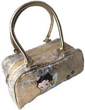 Betty Boop ' Baby Boop ' weich gold Distressed Look Handtasche