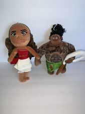Moana And Maui Doll Plush Toy