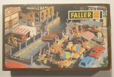 FALLER HO/OO B-582 MARKET STALLS - SCENERY BOXED