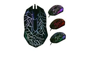 Wired Mouse Gaming For All Devices - Light Up Gaming Mouse For Computer MacBook